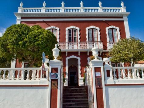 GR 130: Casa Roja © Patronato de Turismo -  P. Espantaleón