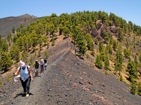 GR-131: Ruta de Los Volcanes © Patronato de Turismo - J. L. Méndez